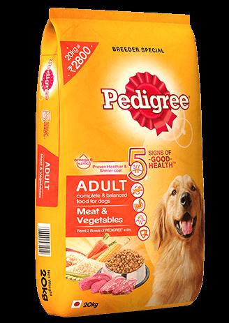 Pedigree Adult Meat and Vegetables 20KG