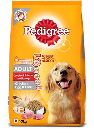Pedigree Adult Chicken Rice and Eggs