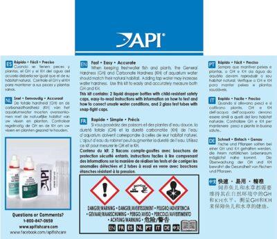 API General/Carbonate Hardness Test kit