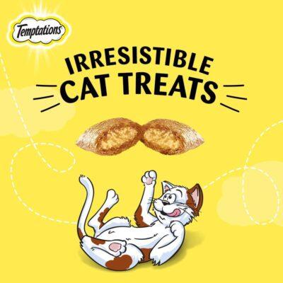 Temptations Cat Treat Tempting Tuna Flavour, 85g