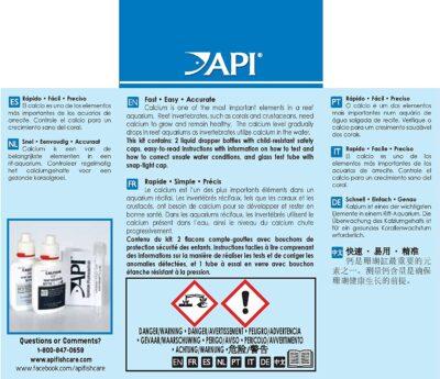 API Calcium Test Kit, 150 Gram
