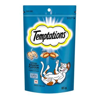 Temptations Cat Treat, Savoury Salmon Flavour